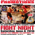 June 4th Fight Night