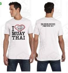 I HEART MUAY THAI T-SHIRTS